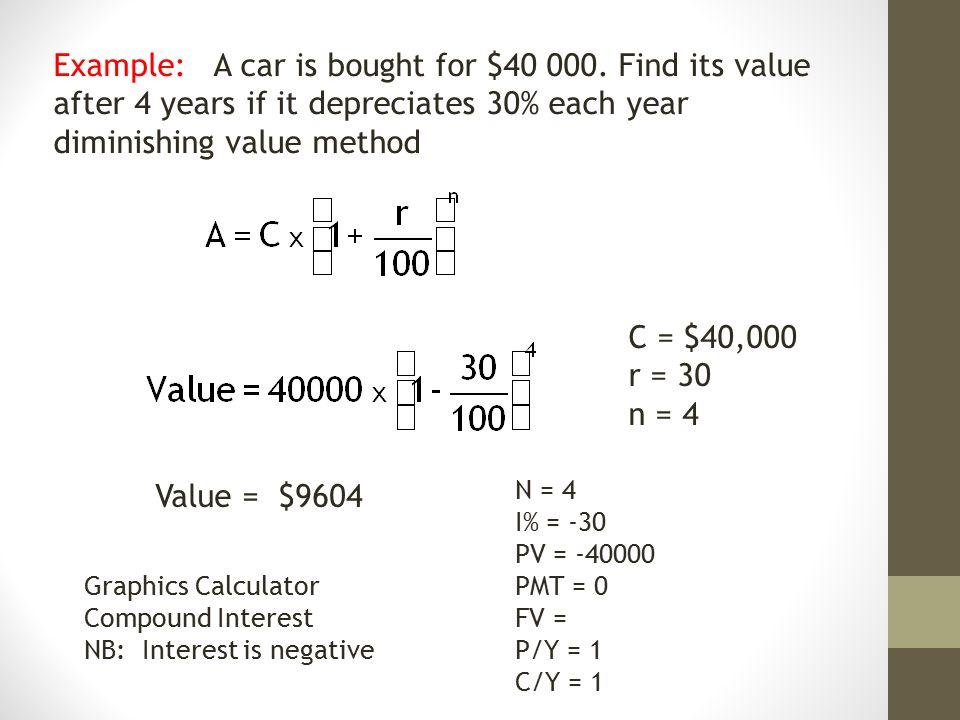 Note 4 Depreciation Depreciation Occurs Over Time As The Value Of A