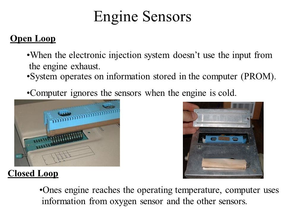 Engine Sensors Open Loop