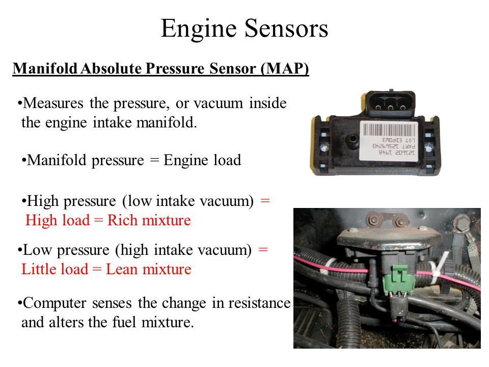 Engine Sensors Manifold Absolute Pressure Sensor (MAP)