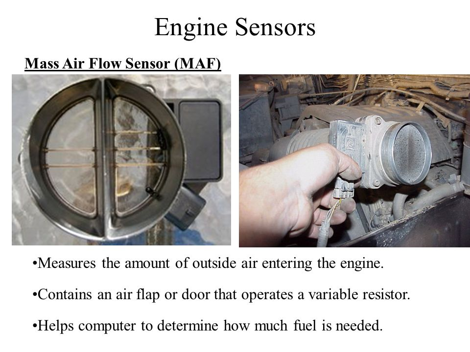 Engine Sensors Mass Air Flow Sensor (MAF)