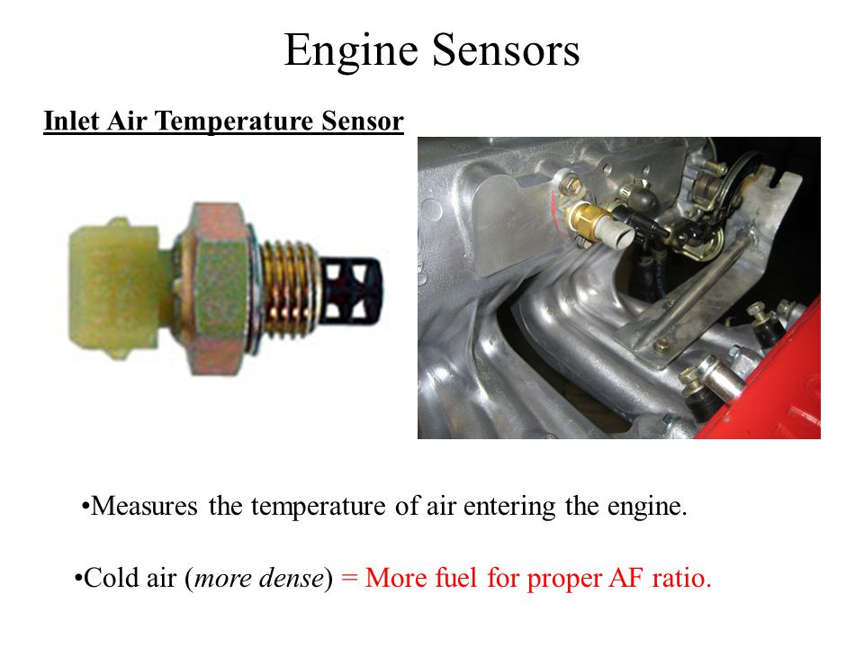 Engine Sensors Inlet Air Temperature Sensor