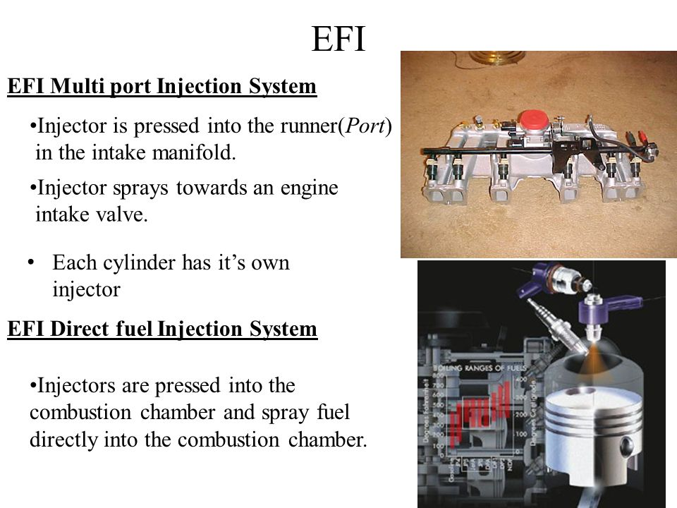 EFI EFI Multi port Injection System