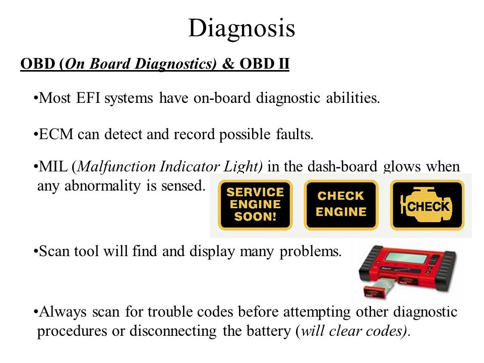 Diagnosis OBD (On Board Diagnostics) & OBD II