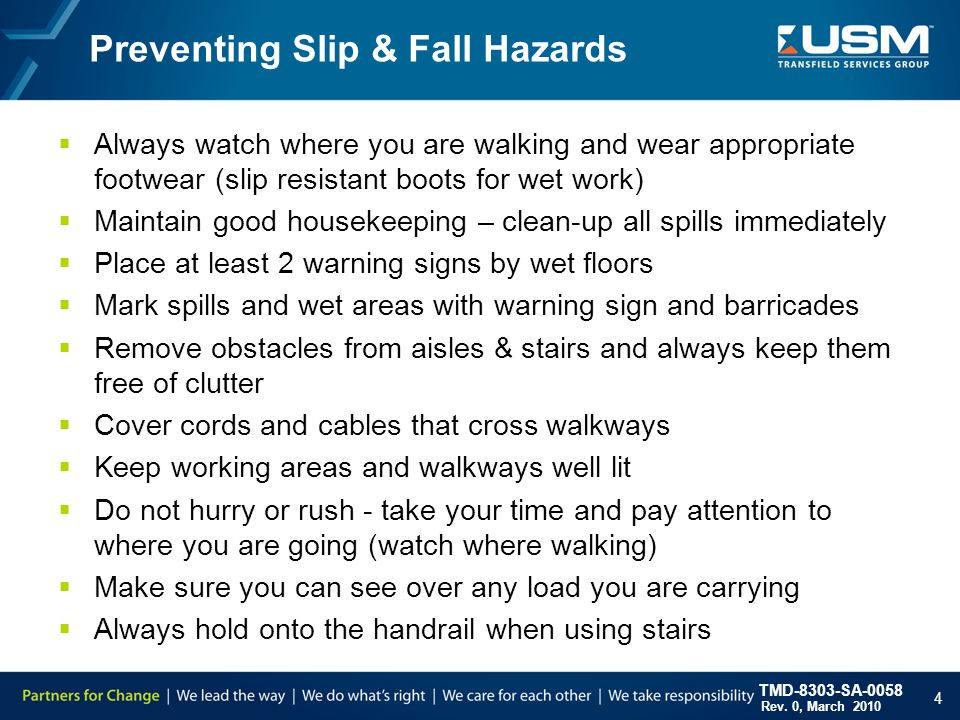 Wet Work Safety Training Ppt Video
