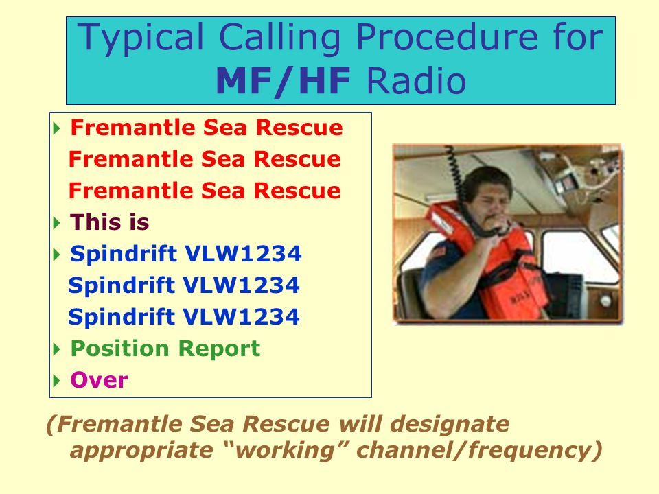 Marine Radio Operators Certificate of Proficiency - ppt download