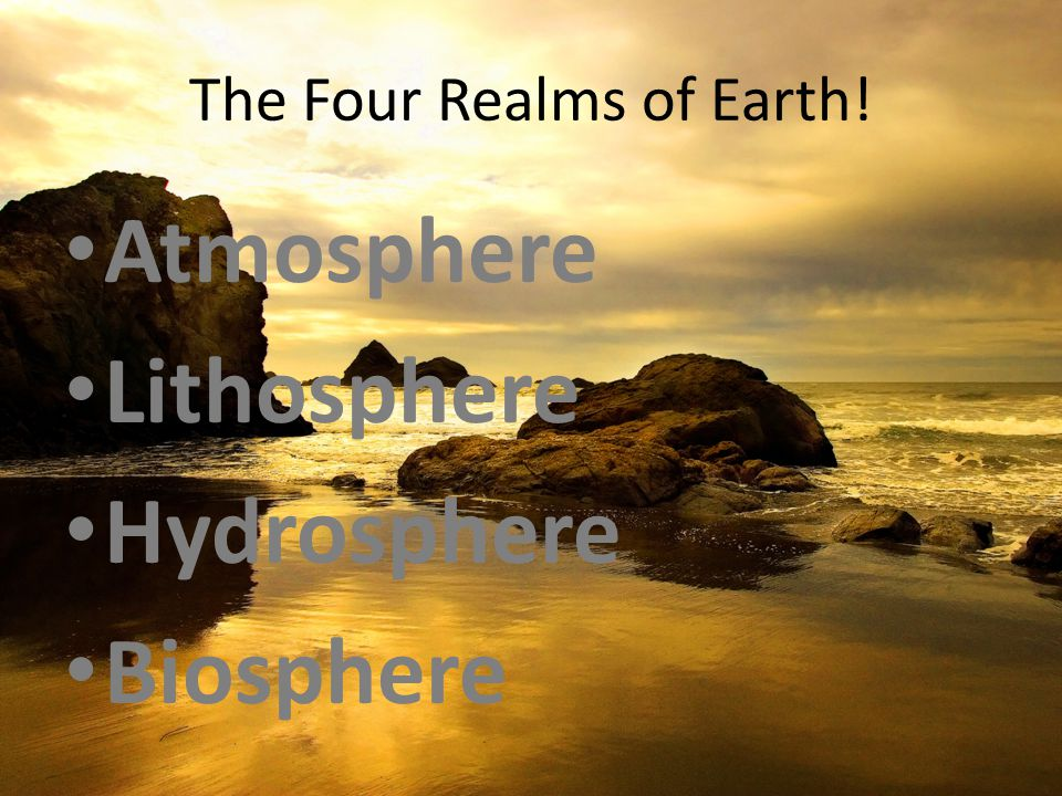 natural realms of the earth