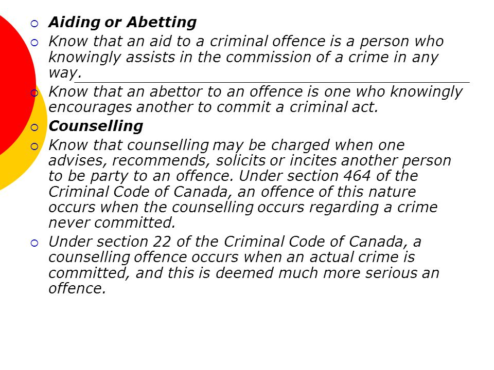 Aiding and abetting criminal code canada guanyar bitcoins for free