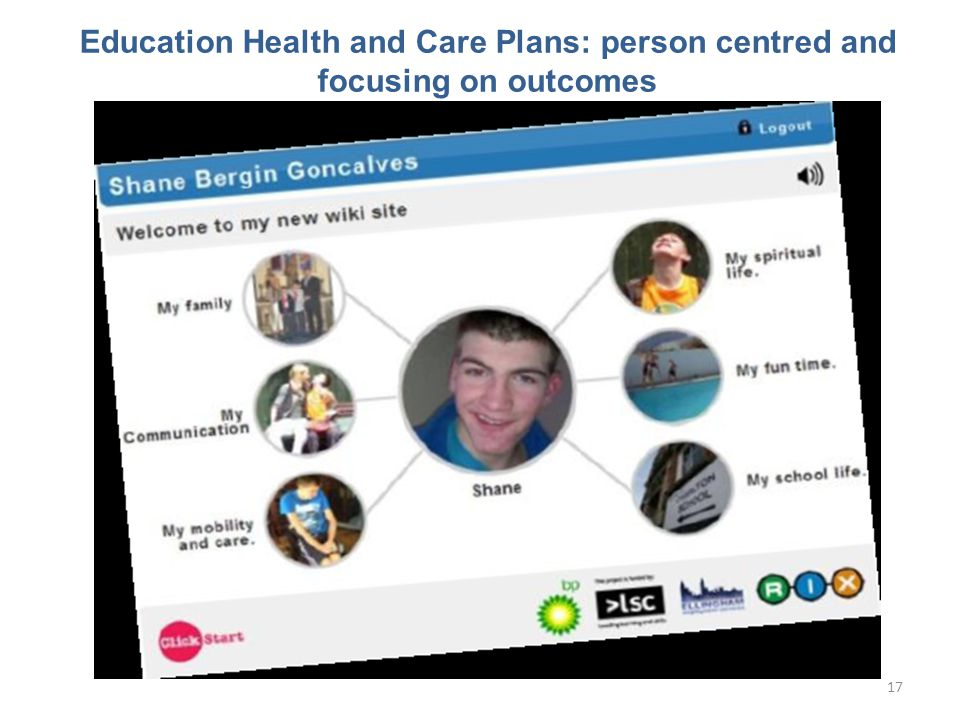 Education Health and Care Plans: person centred and focusing on outcomes