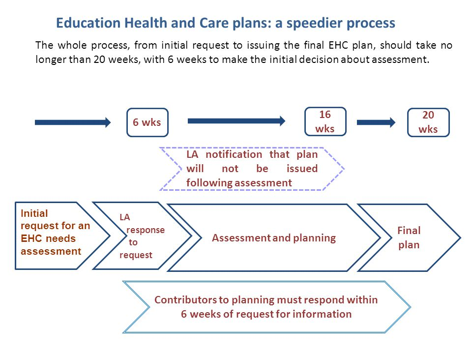 Education Health and Care plans: a speedier process