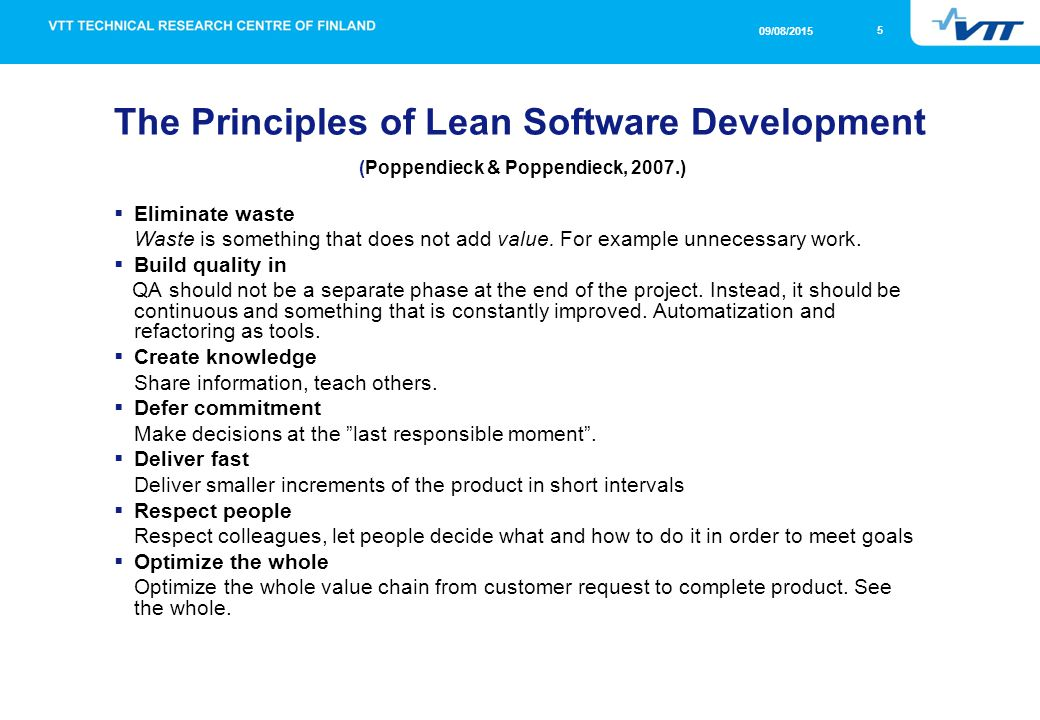 Berühmt Introduction To Lean Software Development And Value Stream Mapping @MV_73