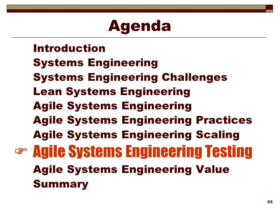 Lean agile systems engineering ppt download agile systems engineering testing fandeluxe Gallery