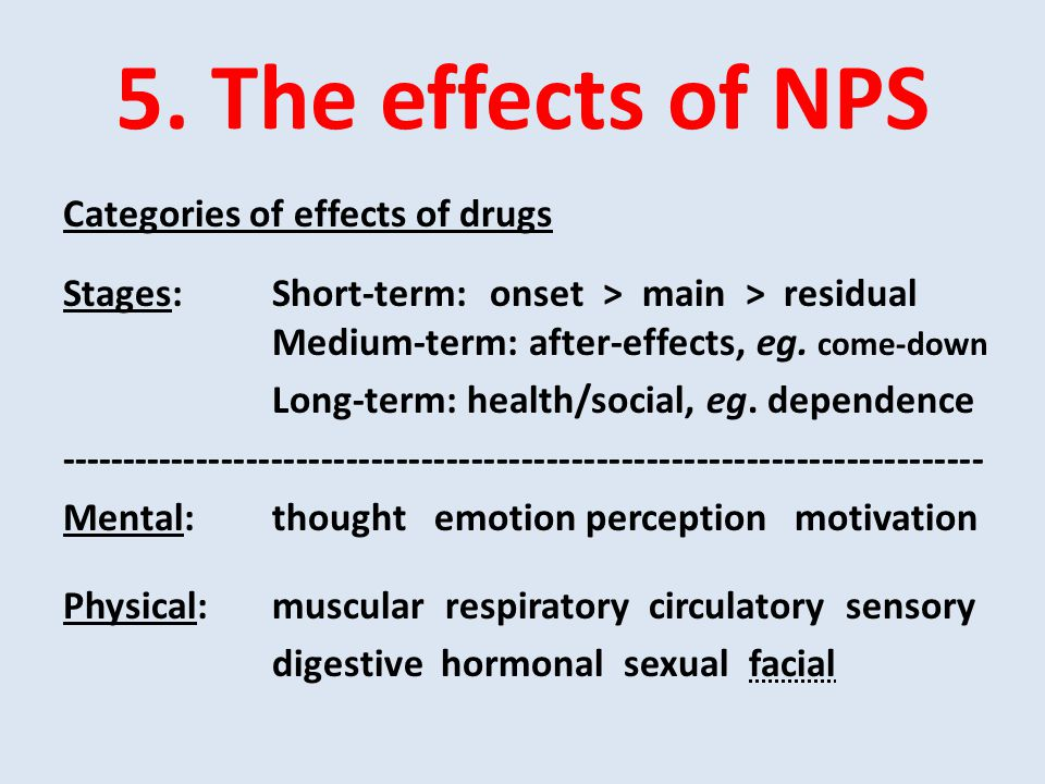 The rapidly changing nature of novel psycho-active substance