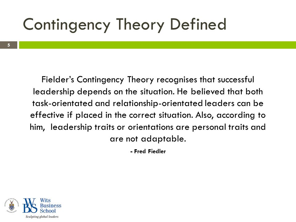 what is leadership theory pdf