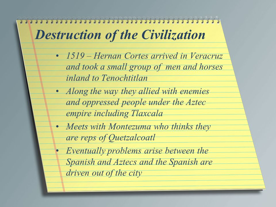 Destruction of the Civilization