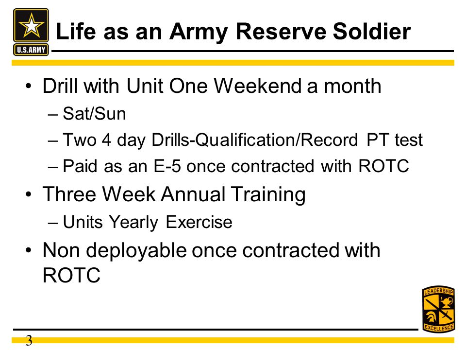 Army Reserve Simultaneous Membership Program - ppt video