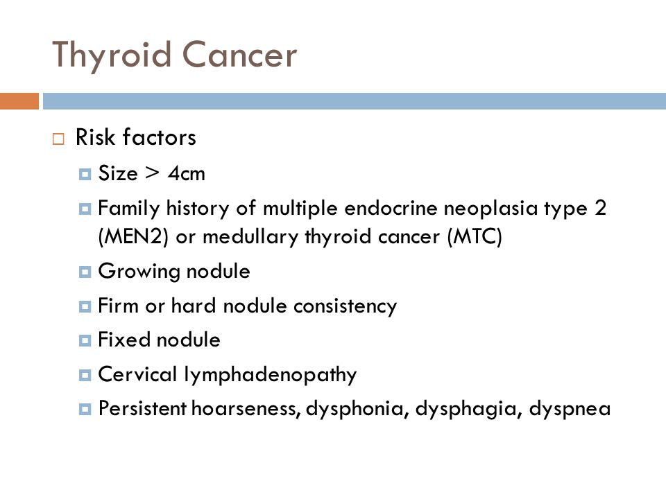 Thyroid Nodules Cancer Ppt Video Online Download