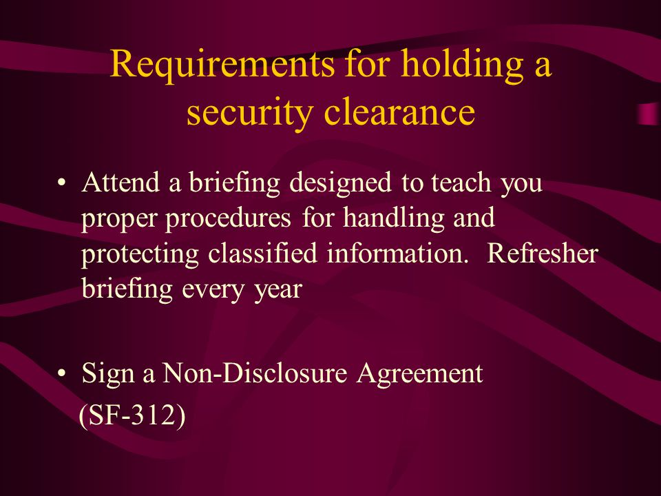 Security Education Briefing Ppt Download