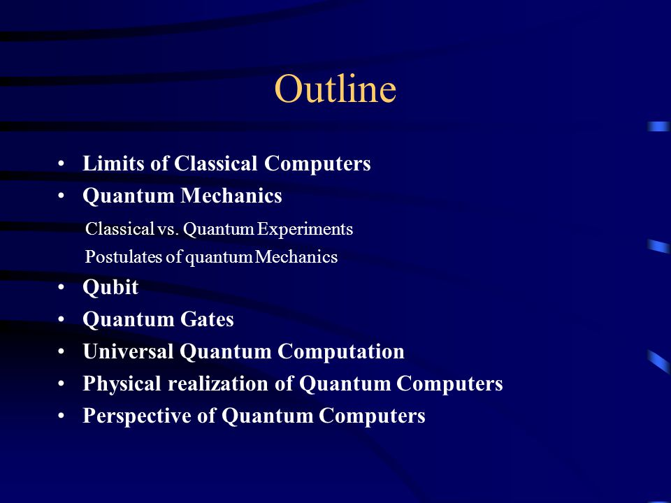 Quantum Information Processing - ppt video online download