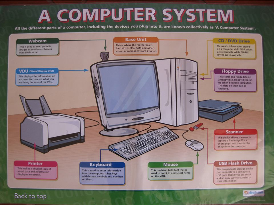 The Computer System The computer is an automatic, electronic