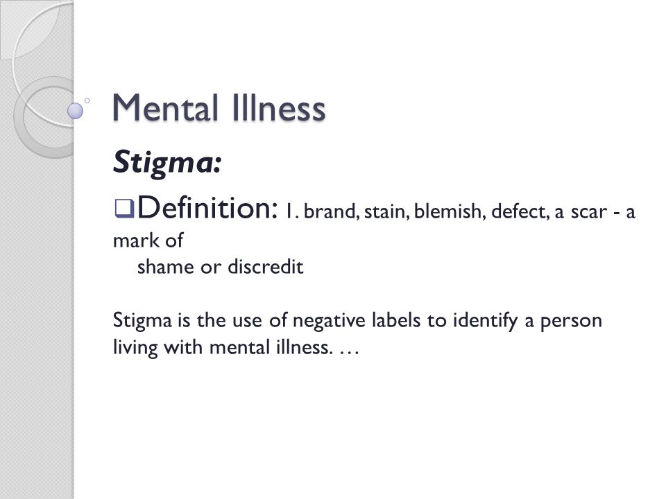 Mental Illness Statistics Ppt Video Online Download