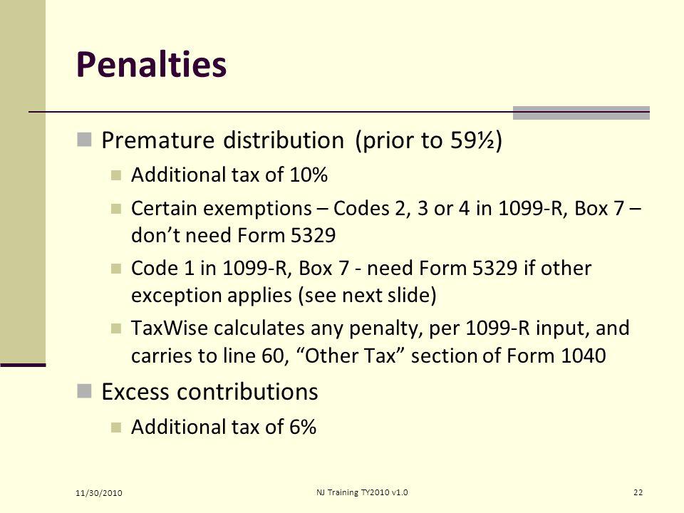 Retirement Ine Form 1040 Lines Pub 4012 Tab 2 Ppt Video Online. 22 Penalties Premature Distribution. Worksheet. 1099 R Worksheet At Clickcart.co