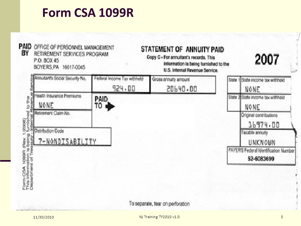 Retirement Ine Form 1040 Lines Pub 4012 Tab 2 Ppt Video Online. Form Csa 1099r Noteshandouts 4192017 Nj Training Ty 2008 11. Worksheet. 1099 R Worksheet At Clickcart.co