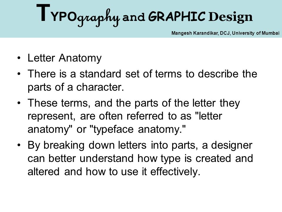 Typography and Graphic Design - ppt download