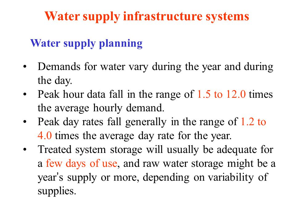 Water, sewer, and stormwater systems and services - ppt download