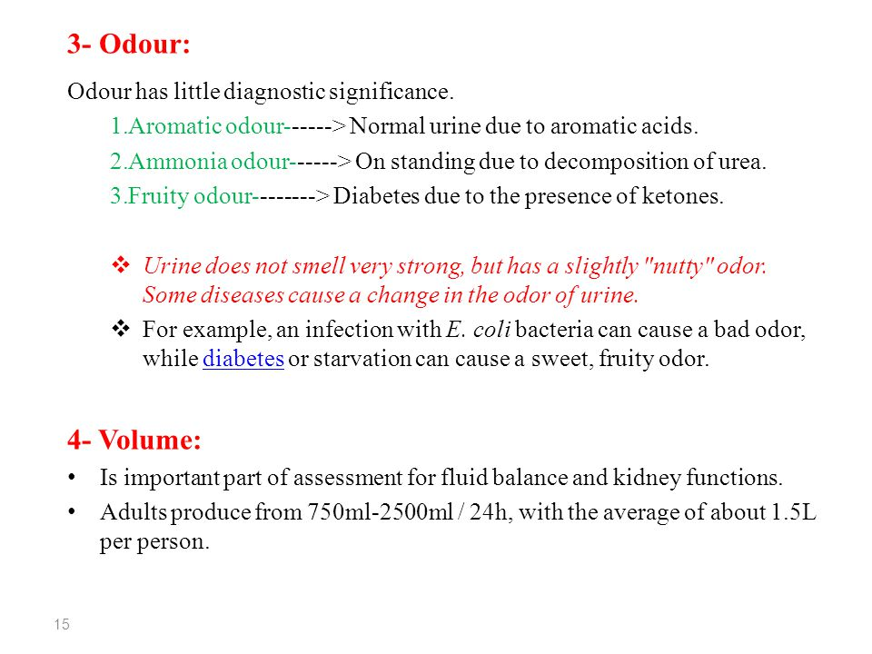 Physical Examination of Urine - ppt video online download