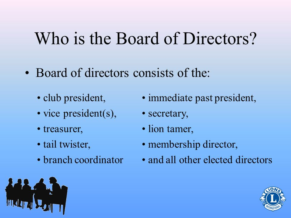 Who is the Board of Directors