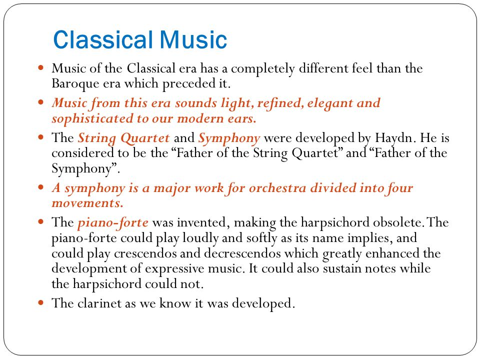 how is the modern era similar to the classical era