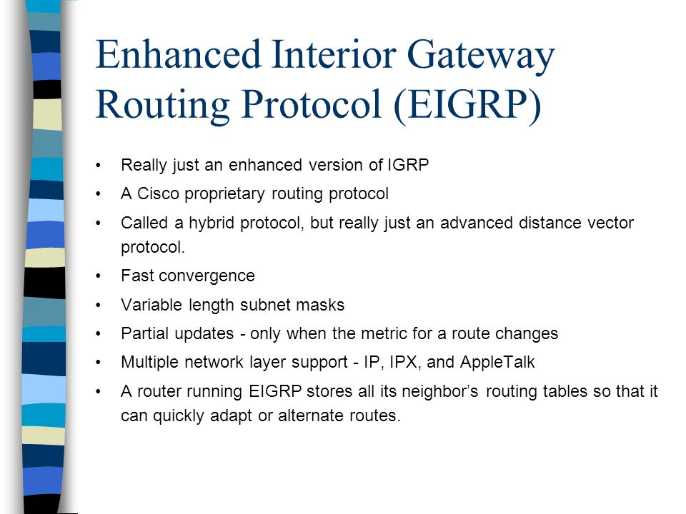 Routing protocols Part III - p...