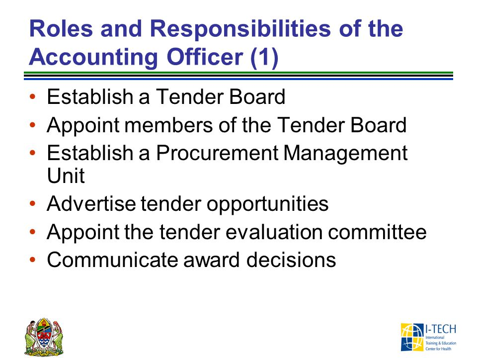 Roles and Responsibilities of the Accounting Officer (1)