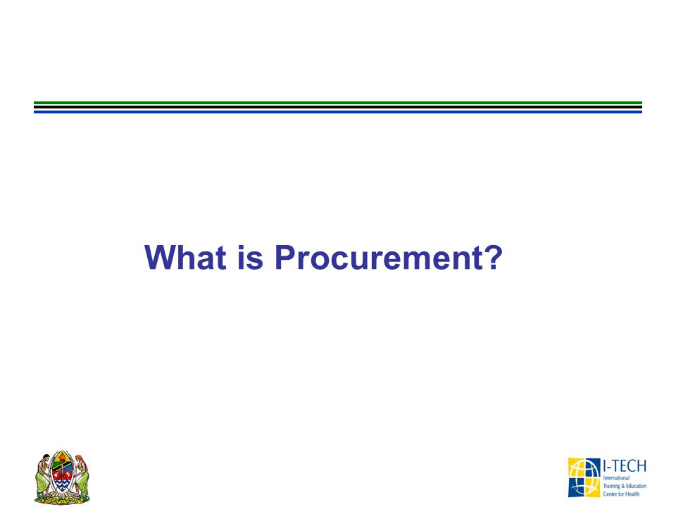 What is Procurement ASK participants the question on the slide.