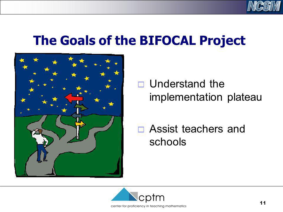 The Goals of the BIFOCAL Project