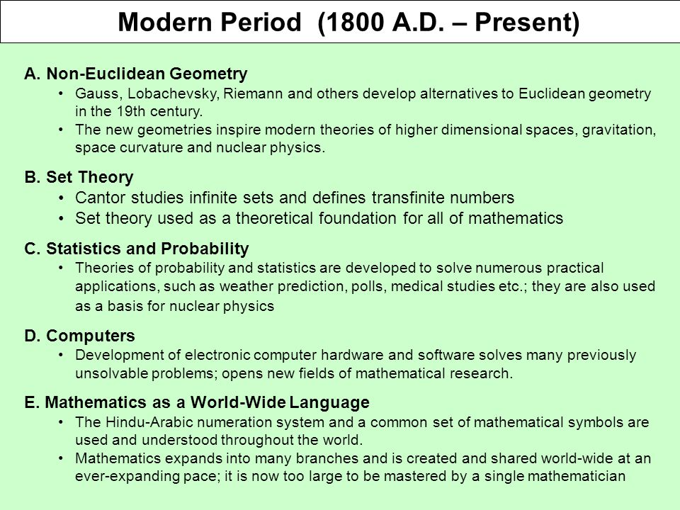 A Brief History Of Mathematics Ppt Video Online Download