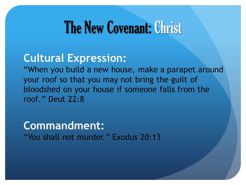 The New Covenant: Christ