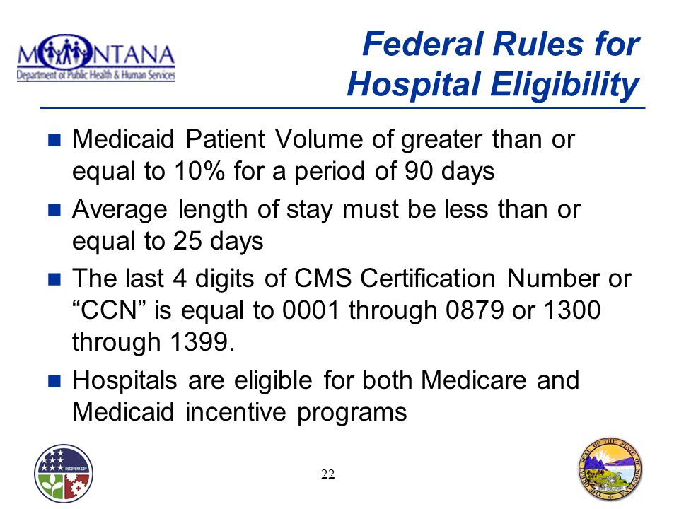 Montana Medicaid Electronic Health Records Incentive Program for ...