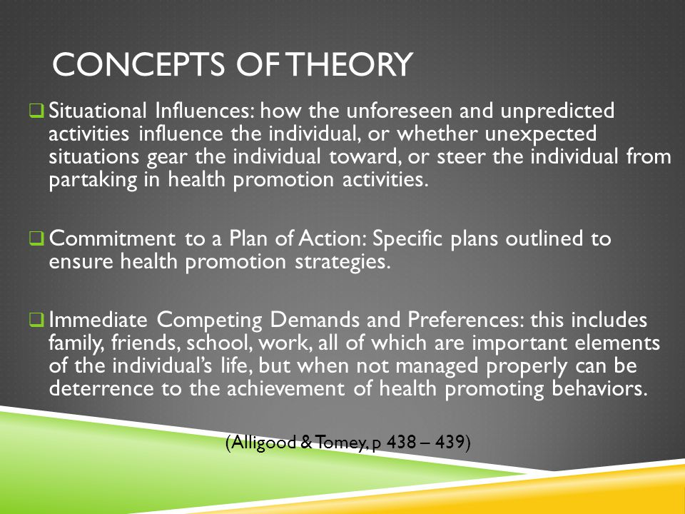 Concepts Of Theory