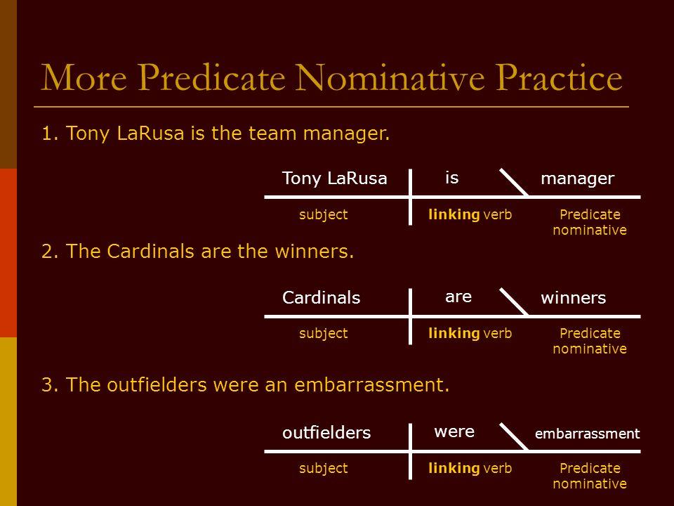 Printable Worksheets predicate adjectives worksheets : Part 4: Linking Verbs, Predicate Adjectives, and Predicate ...