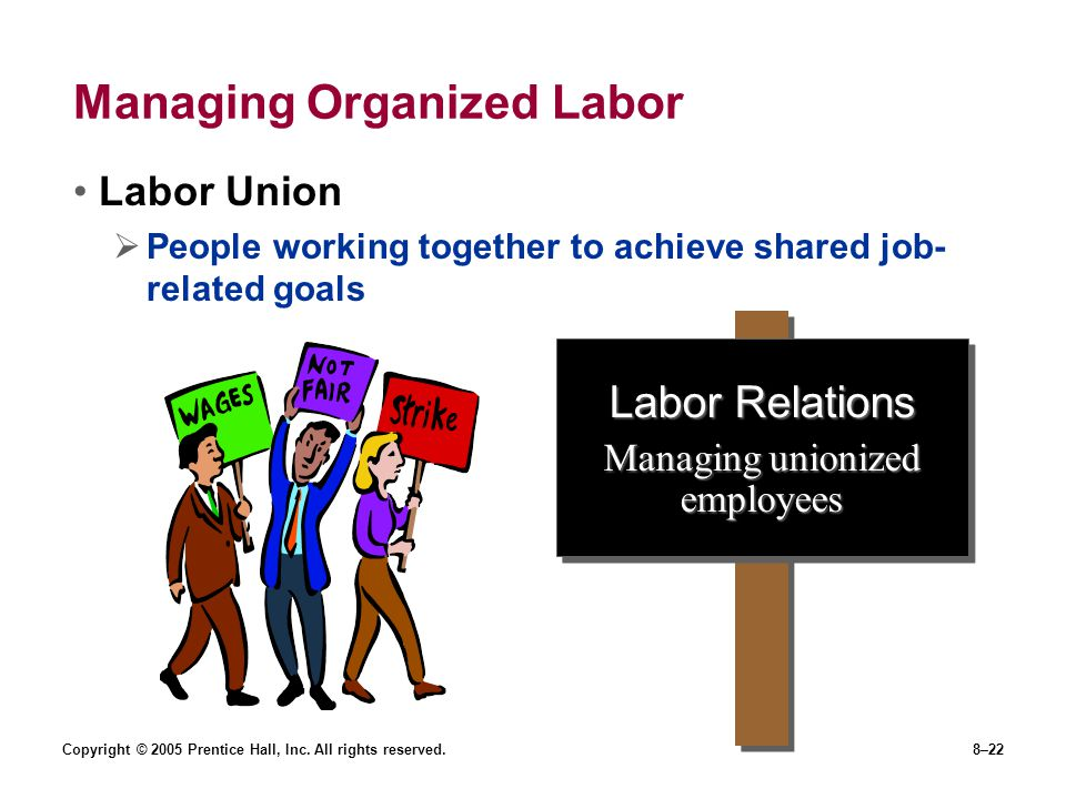 Managing Organized Labor