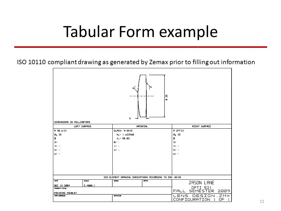 ISO Optical Drawing Standards - ppt video online download