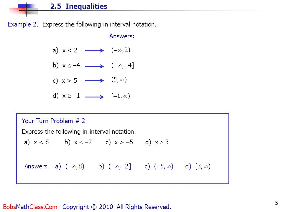 1 A B Means A Is Less Than B Ppt Video Online Download