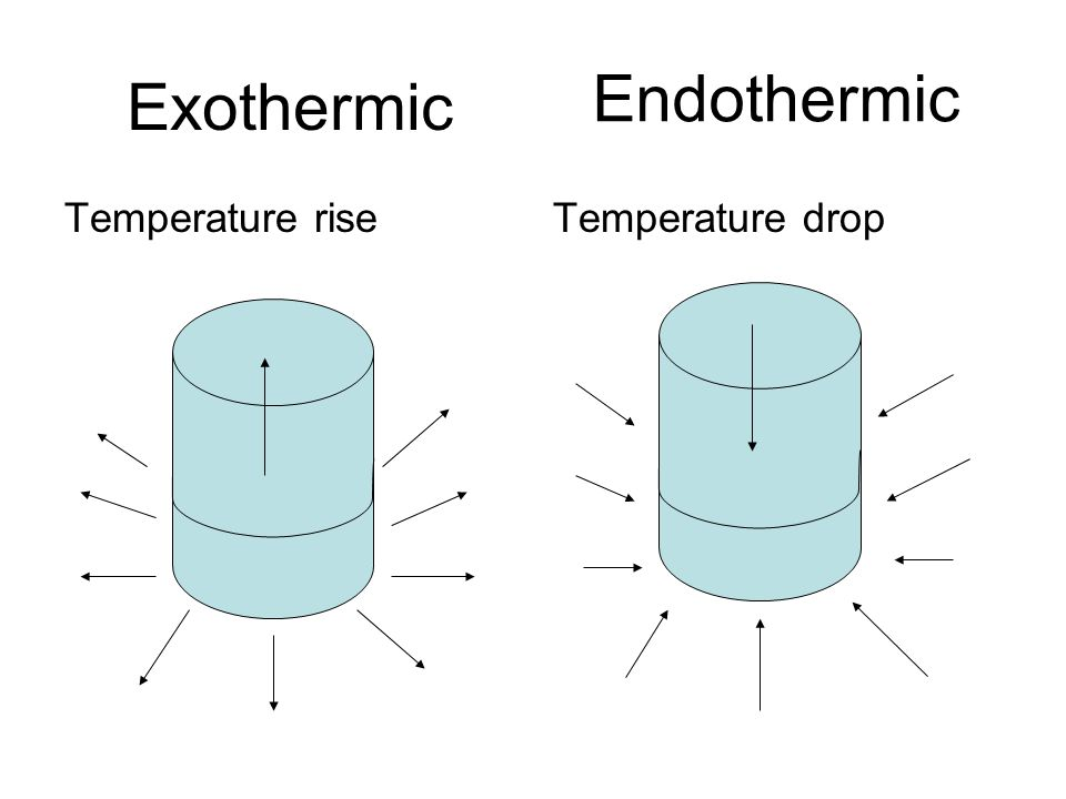 Endothermic And Exothermic Reactions Ppt Download