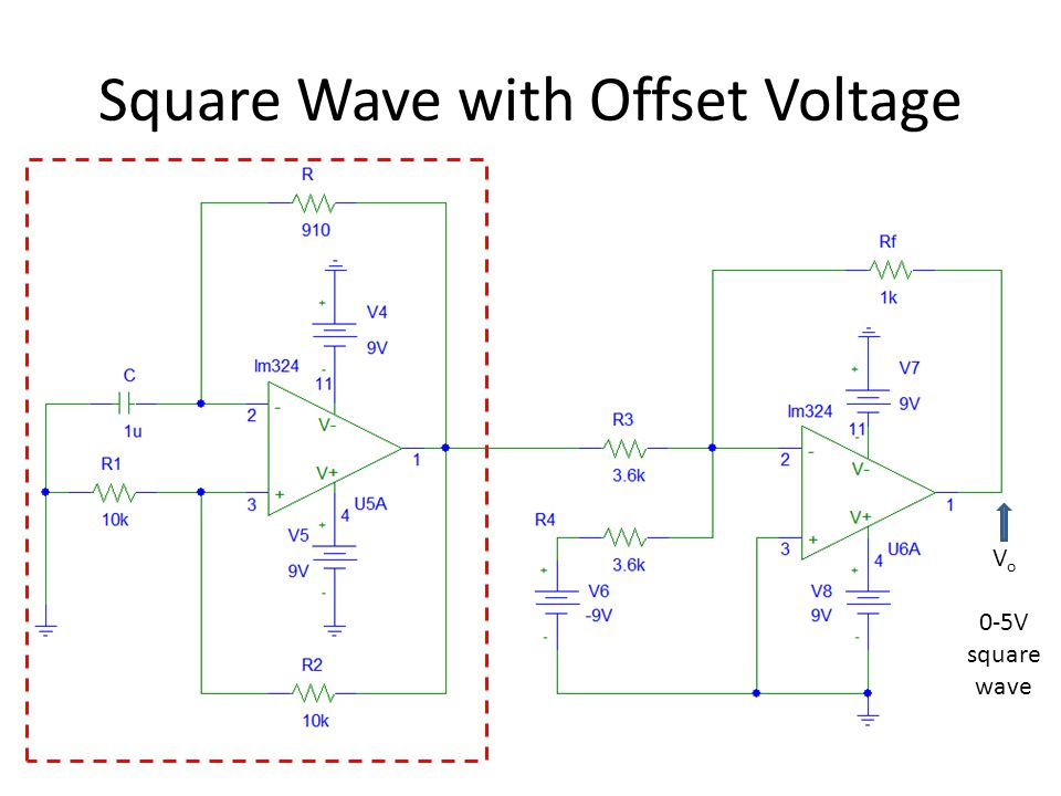Square Wave with Offset Voltage