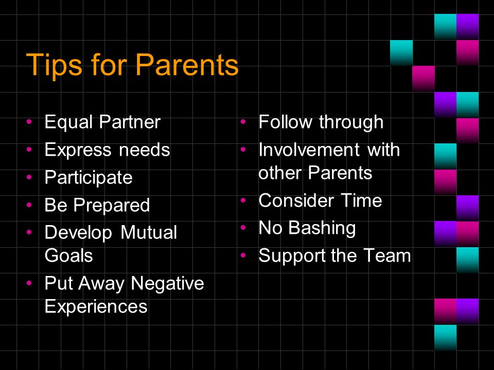 Parents As Equal Participants In Team >> Oregon Parent Training And Information Center Mission Ppt Video