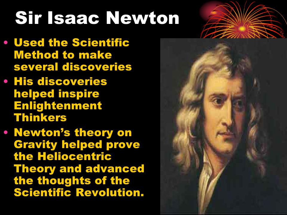 isaac newton scientific revolution