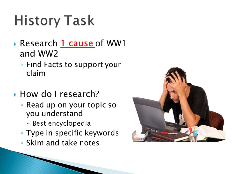 ww1 research topics