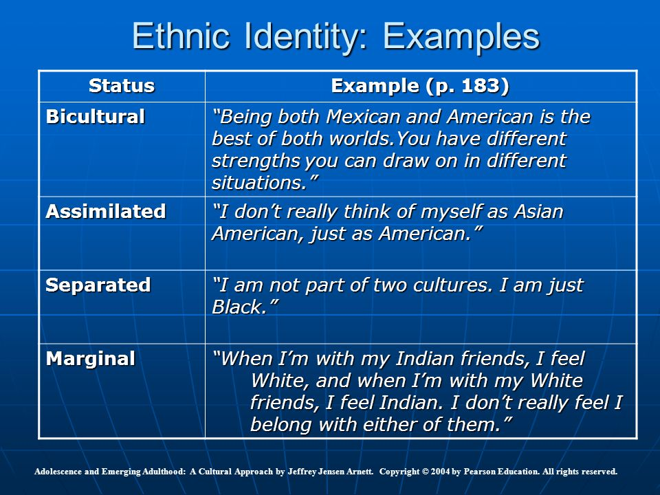 what is my ethnic identity