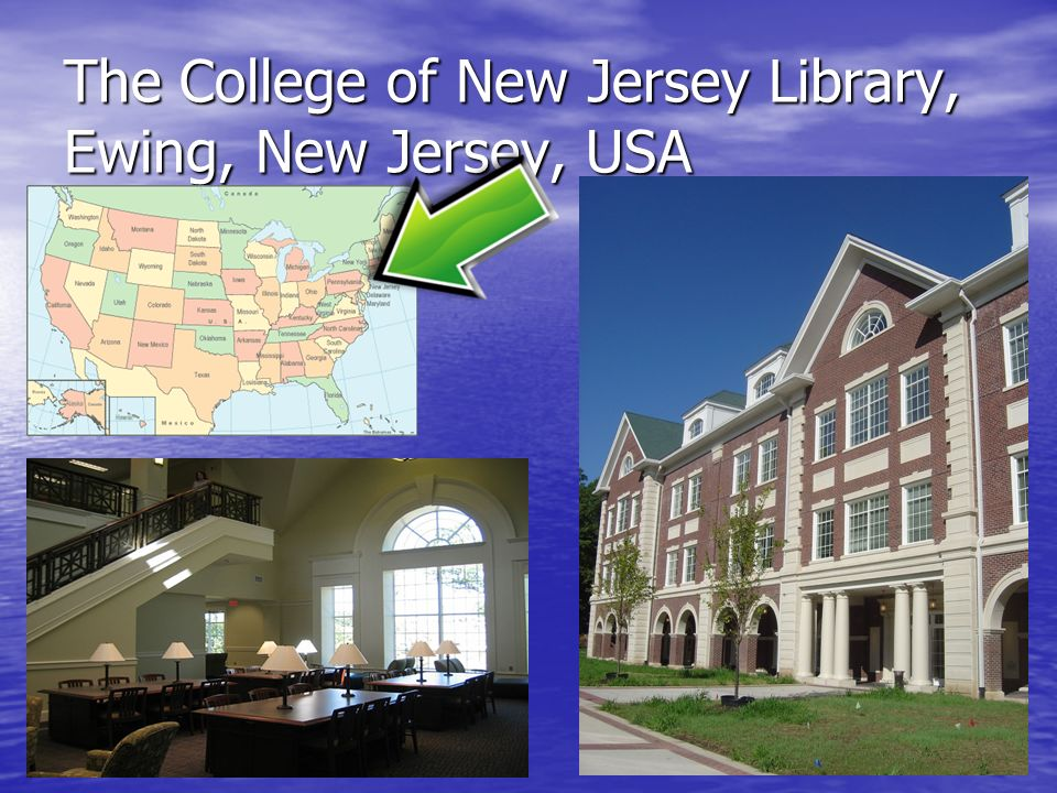 The College of New Jersey Library, Ewing, New Jersey, USA